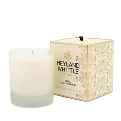 HEYLAND AND WHITTLE- Wild Lemongrass Diffuser, Candle and Organic Soap