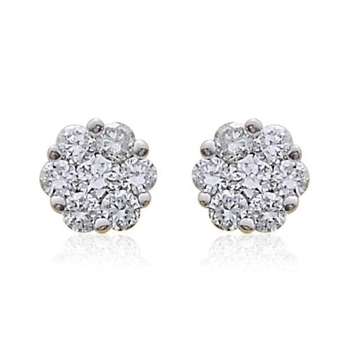 ILIANA 18K Y Gold IGI Certified Diamond (Rnd) (SI/G-H) Stud Earrings (with Screw Back) 0.250 Ct.