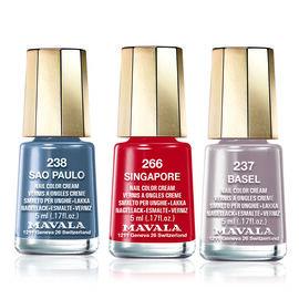 (Option 2) MAVALA- Eclectic Trio 2- Basel 237, Singapore 266 and Sao Paulo 238