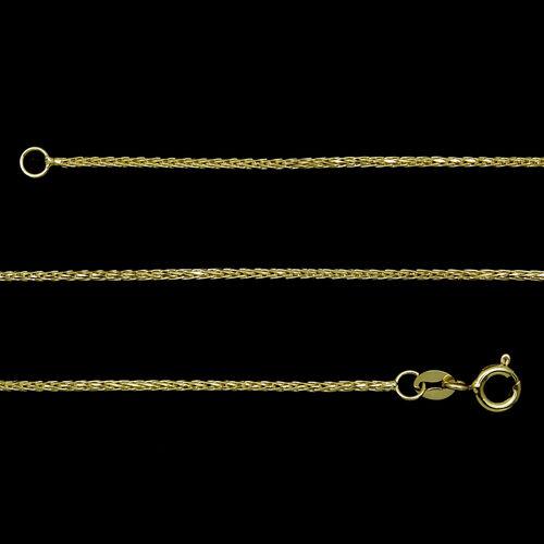 JCK Vegas Collection ILIANA 18K Y Gold Foxtail Chain (Size 20), Gold wt 4.00 Gms.