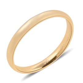 Royal Bali Collection 9K Yellow Gold Band Ring