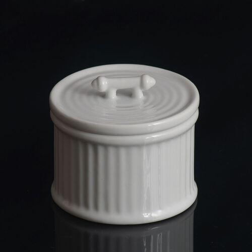 (Option 1) Home Decor - Fresh Linen Fragrance Ceramic Wax Candle