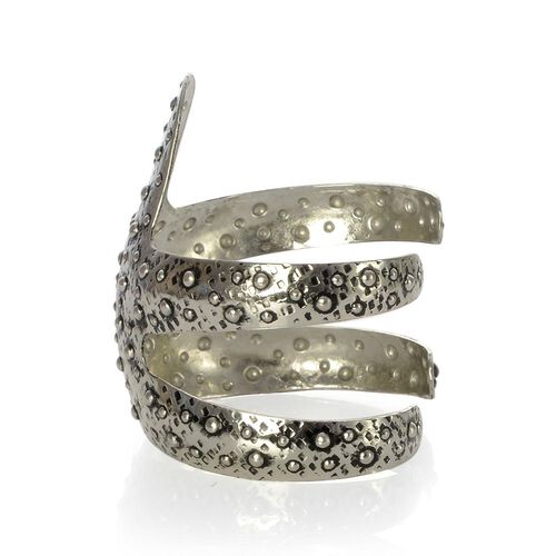 Jewels of India Handicraft Starfish Cuff Bracelet in Silver Tone