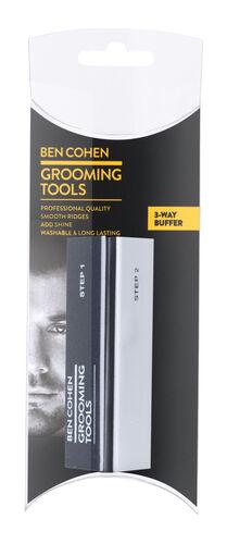 Ben Cohen Male Grooming Kit 2- Nail Pliers, 3 Way buffer, Moustache & Beard Scissors, Moustache & Beard Comb