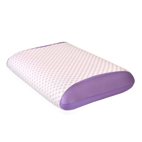 Aroma Therapy Eucalyptus Infused Memory Foam Air Flow Pillow