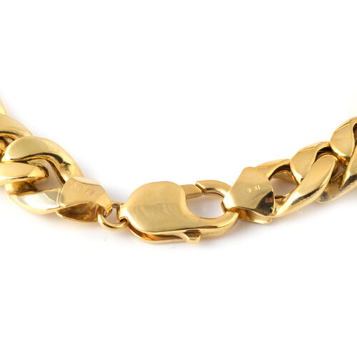 Exclusive Edition - JCK Vegas Collection 9K Yellow Gold Curb Bracelet (Size 8), Gold wt. 24.22 Gms.