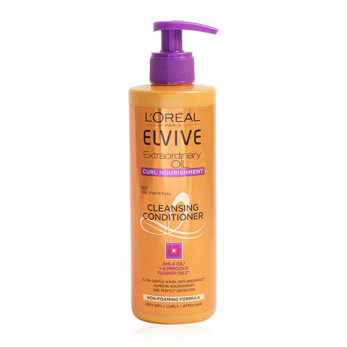 LOreal Elvive Curl Nourishment Cleansing Conditioner 400ml