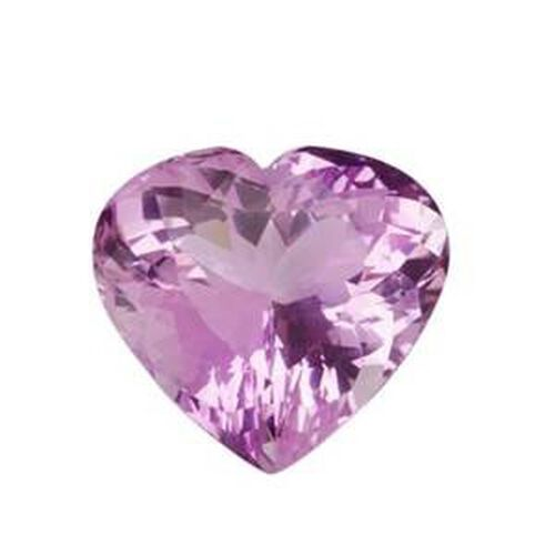 Kunzite (Heart 15 Faceted 3A) 10.10 Cts