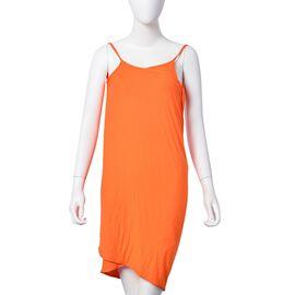Summer Special Orange Colour Beach Wrap (Size 140X70 Cm)