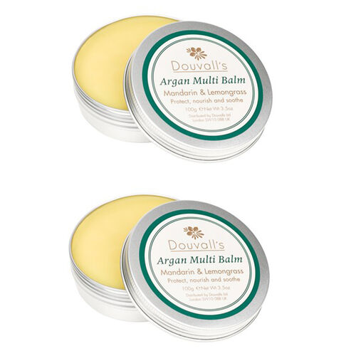 Alicia Douvall Agan Oil Multi Balm Set of 2 100g Estimated Dispatch 4-5 working days