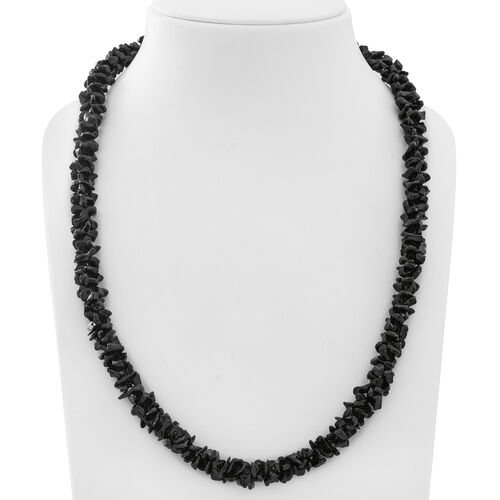 Boi Ploi Black Spinel Necklace (Size 26) 580.000 Ct.