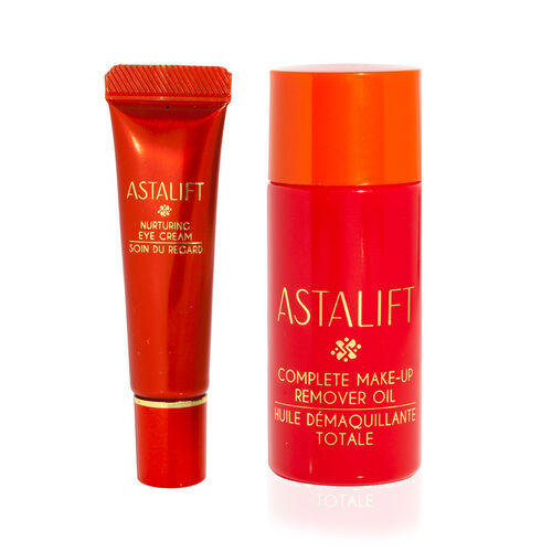 ASTALIFT - 7g Eye Cream and 30ml Makeup remover oil