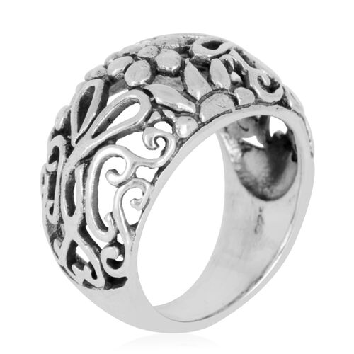 Thai Sterling Silver Ring, Silver wt 6.50 Gms.