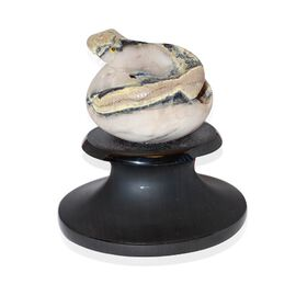 Tucson Collection Home Style Tucson Treasures Hand Crafted Serpentine Snake Egg