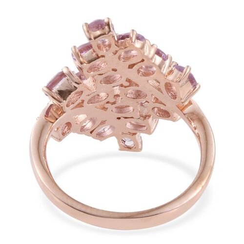 Rose De France (2.50 Ct) Brass Ring  2.500  Ct.