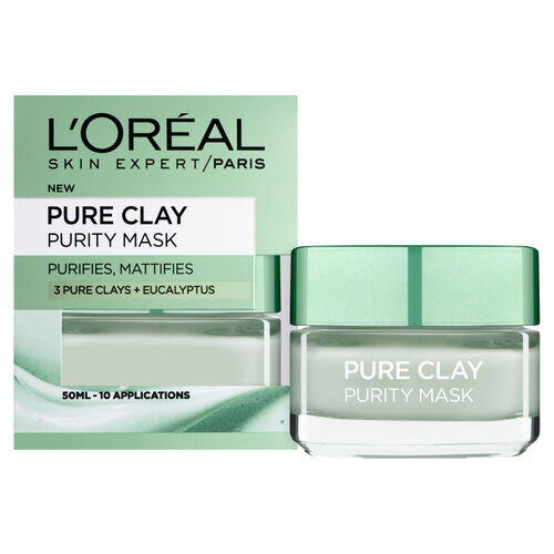 (Option 3) LOreal Paris Pure Clay Purity Mask 50ml