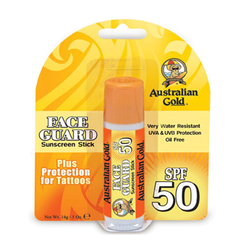Australian Gold  Face Guard Stick SPF50 14g