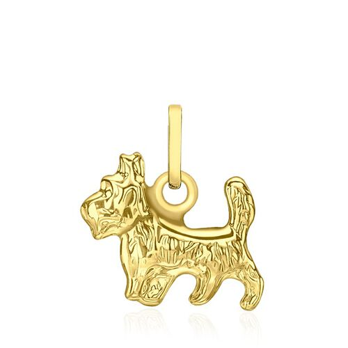 Close Out Deal 9K Y Gold Yorkshire Terrier Pendant