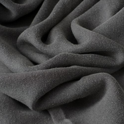 100% Rayon Pareo - Grey Colour (Size 190x120 Cm)