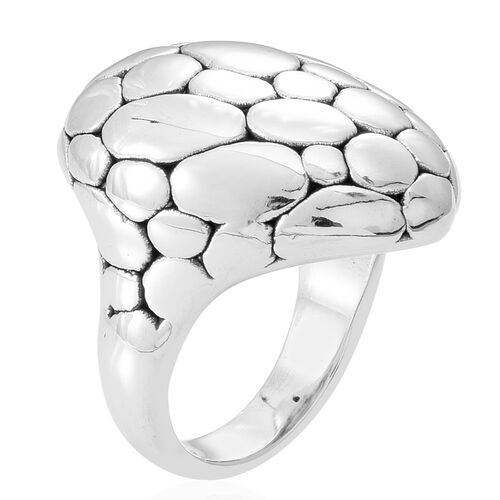 Thai Sterling Silver Ring, Silver wt 6.70 Gms.