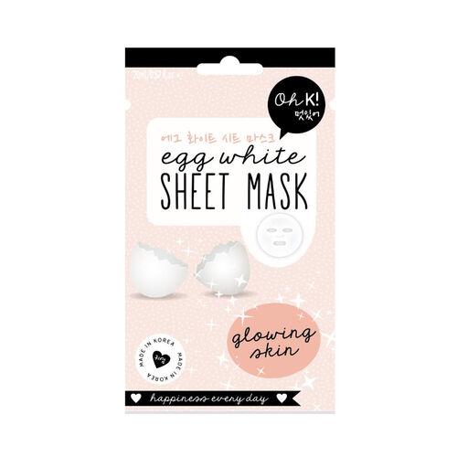 OH K - Coffee Bean Hydrogel Mask 25G, Egg white Sheet Mask & Avocado Sheet Mask 20ml