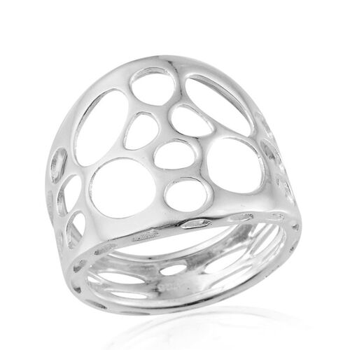 Sterling Silver Band Ring, Silver wt 4.06 Gms.