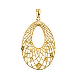 Designer Inspired - Vicenza Collection 9K Yellow Gold Pendant