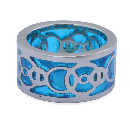 Ring in Stainless Steel with Resin