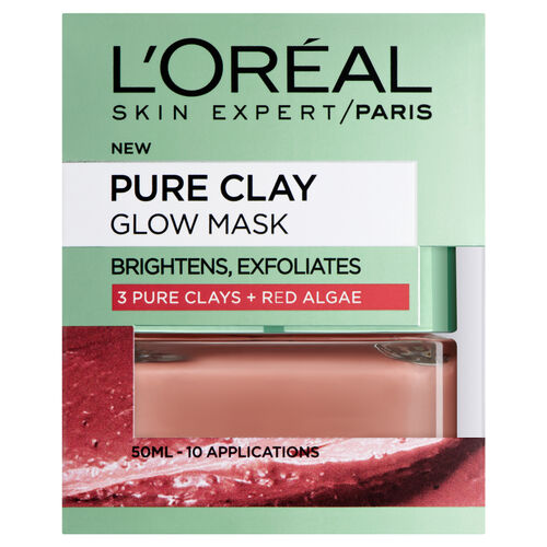 (Option 2) LOreal Paris Pure Clay Glow Mask 50ml
