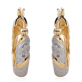 New York Collection Close Out Deal - Diamond (Rnd) Earrings in Gold Plated