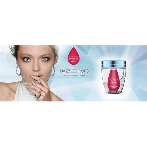 CONNOISSEURS- Dazzle Drops- Advanced Jewellery Cleaner