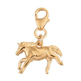 Horse Charm in Gold Plated Silver