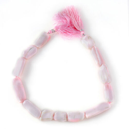 Peruvian Pink Opal Enhanced TUMBLE Free Faceted 3A 175.000 Ct.