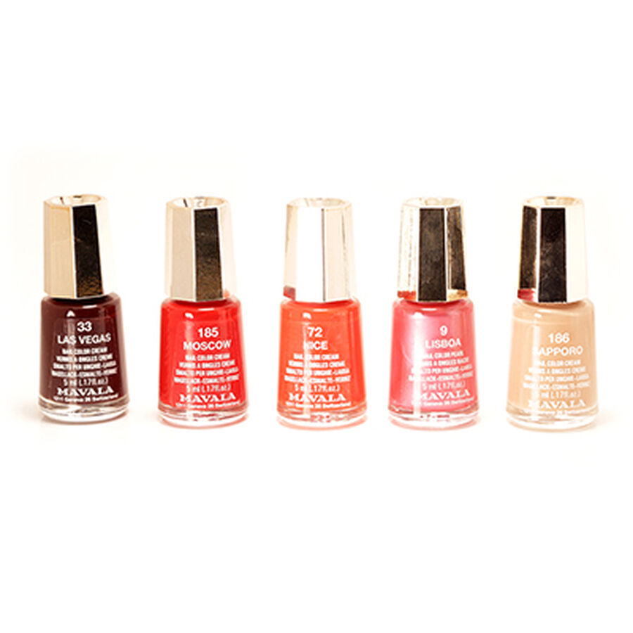 Classic Nail Color: Mavala Classic Nail Polish Collection In UK