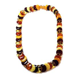 Limited Edition - Tucson Collection AAA Baltic Amber Necklace (Size 20) 161.000 Ct.