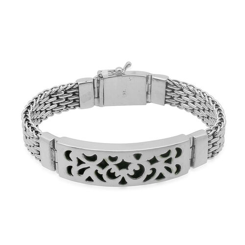 Royal Bali Collection Sterling Silver Bracelet (Size 9), Silver wt 65.50 Gms.