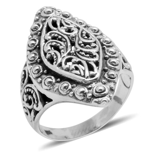 Royal Bali Collection Sterling Silver Ring, Silver wt 5.31 Gms.