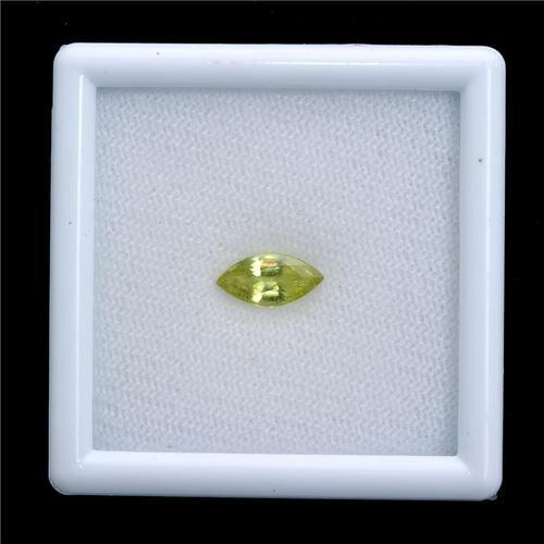 Sava Sphene (Mrq 10x5 mm Faceted 2A) 1.080 Ct.