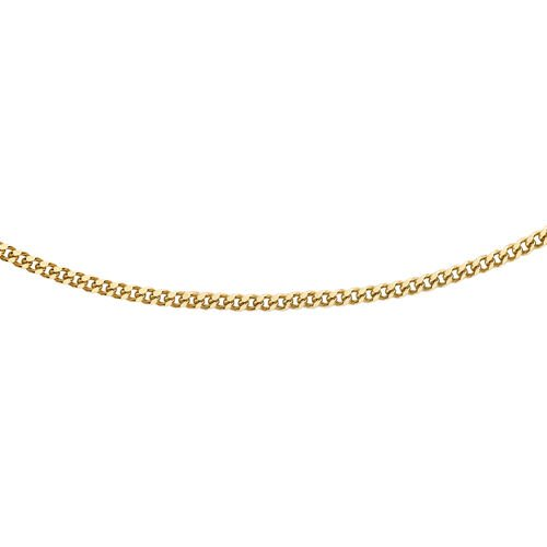 PERSONAL SHOPPER DEAL- 9K Y Gold Curb Chain (Size 16)