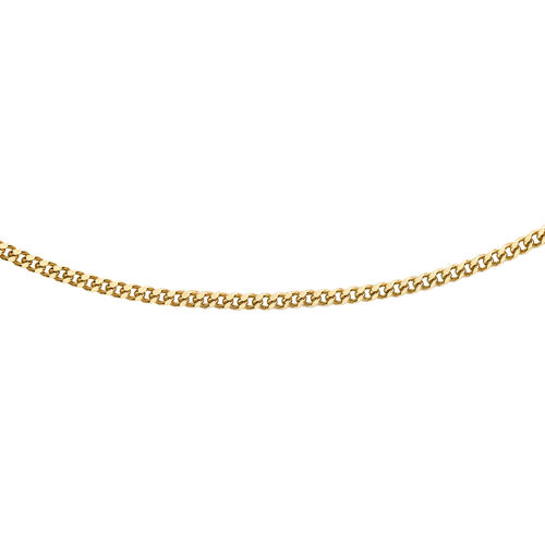 PERSONAL SHOPPER DEAL 9K Y Gold Curb Chain (Size 16)