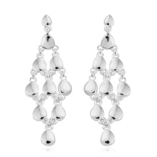 Designer Inspired- Sterling Silver Dangle Earrings (with Push Back),