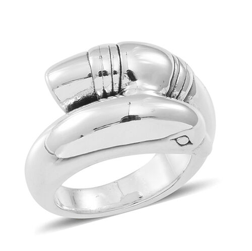 Thai Sterling Silver Dolphin Ring, Silver wt 5.64 Gms.