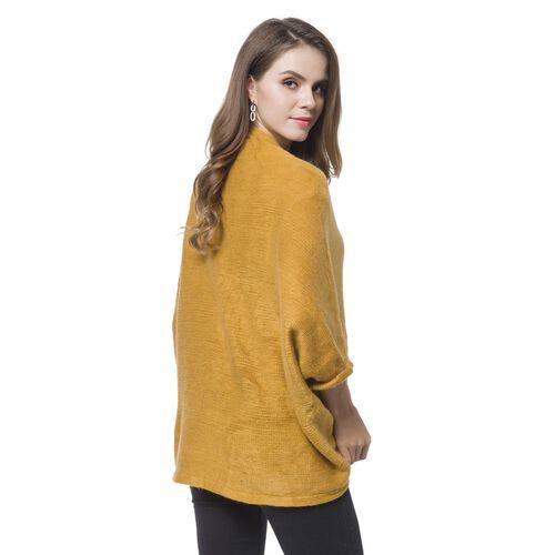 Designer Inspired-Yellow Colour Kimono (Size 105X35 Cm)