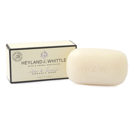 HEYLAND AND WHITTLE- Citrus and Lavender Diffuser, Candle and Organic Soap