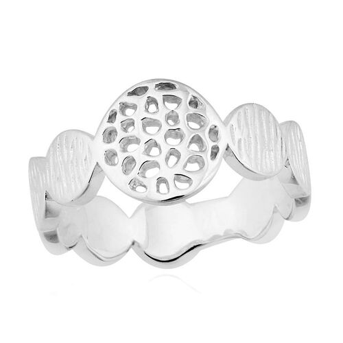 RACHEL GALLEY Sterling Silver Ocean Ring, Silver wt 4.33 Gms.