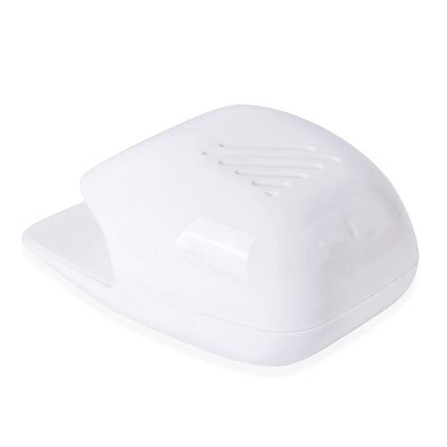White Colour Nail Dryer (Size 16X11X4 Cm)