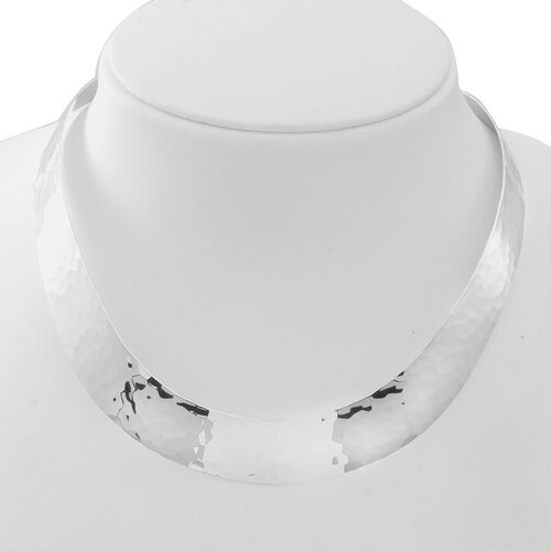 Vicenza Collection- Designer Inspired Sterling Silver Necklace (Size 18), Silver wt 50.05 Gms.
