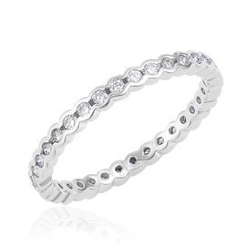 RHAPSODY 950 Platinum IGI Certified Diamond (Rnd) Ring (VS/F) 0.500 Ct.