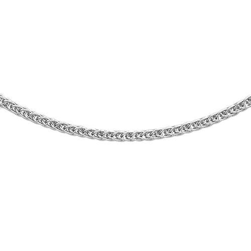 RHAPSODY 950 Platinum Spiga Chain (Size 18), Platinum wt 3.20 Gms.