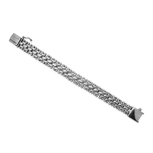 Royal Bali Collection Sterling Silver Bracelet (Size 7.5), Silver wt 58.40 Gms.